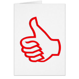 Leader  MOTIVATIONAL Tools :  THUMBSUP Card