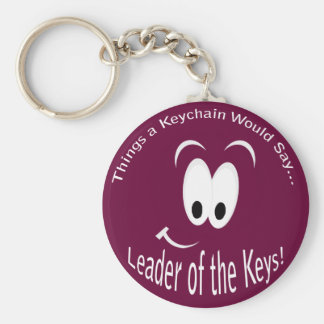 Leader of the Keys Keychain