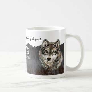 Leader of the Pack 30th Birthday Humor Wolf 30th Coffee Mug
