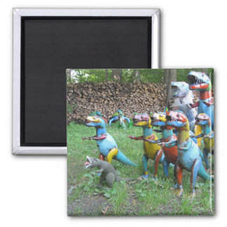 Leader of the Pack fridge magnet
