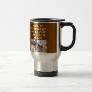 leader of the pack travel mug
