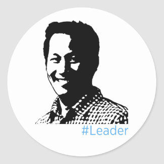#Leader Sticker