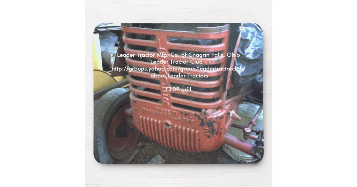 Tractor Front Grill Clip Art : Leader tractor grill mouse pad zazzle