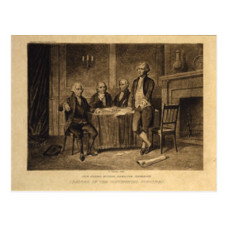 Leaders of the Continental Congress by A. Tholey Postcard