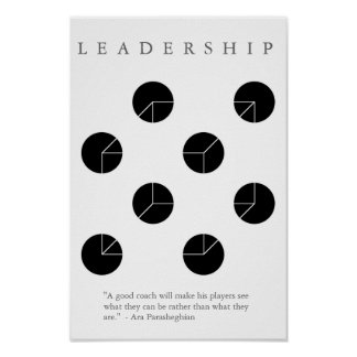 LEADERSHIP COACH - Motivational Illusion Print