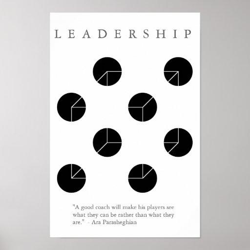 LEADERSHIP COACH - Motivational Illusion Print