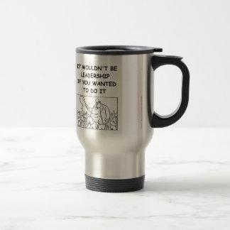 leadership coffee mug