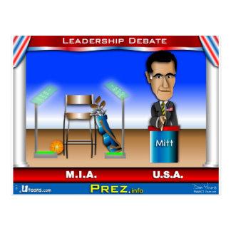 Leadership Debate Postcard
