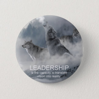 leadership motivational inspirational quote 2 inch round button