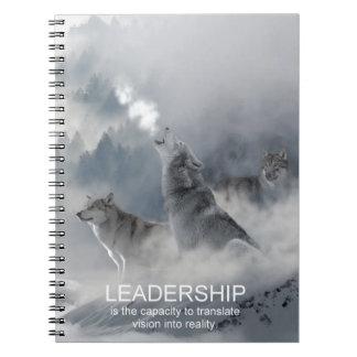 leadership motivational inspirational quote notebooks