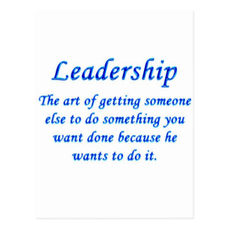 Leadership Postcard