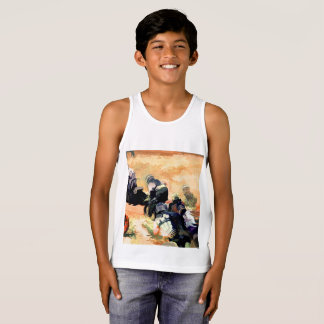 """Leading the Pack"" Motocross Dirt-Bike Racers Tank Top"