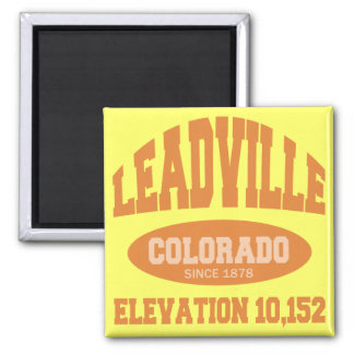 Leadville, Colorado Magnet