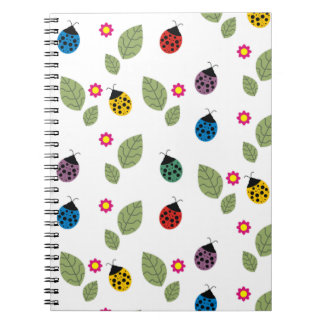 Leaf and beetle notebook