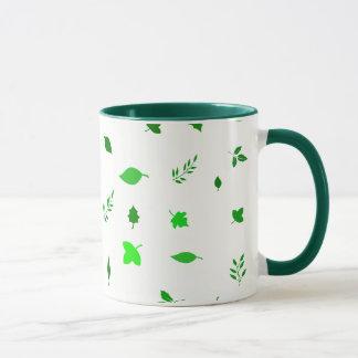 Leaf and Green Mug