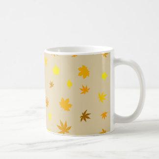 leaf and Maple Coffee Mug