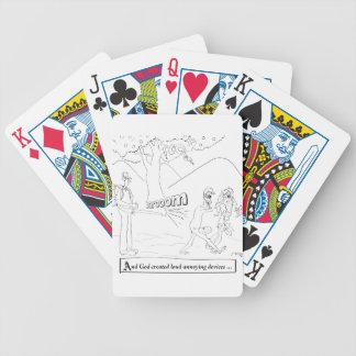 Leaf Blower Cartoon 9326 Poker Deck