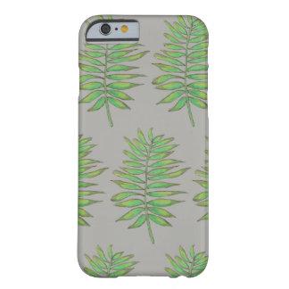 Leaf (chamaedorea elegans) print phone case