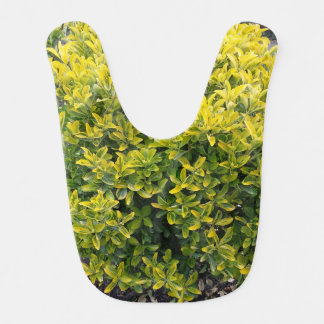 Leaf design bib
