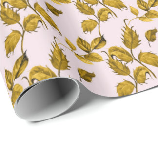 Leaf Design Wrapping Paper