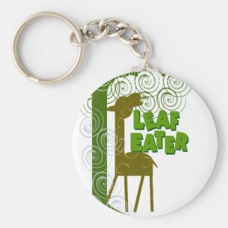 Leaf Eater Keychain