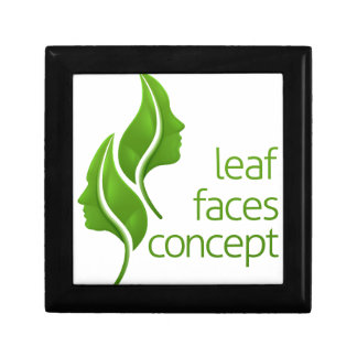 Leaf Faces Concept Gift Box