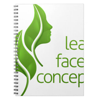 Leaf Faces Concept Notebooks
