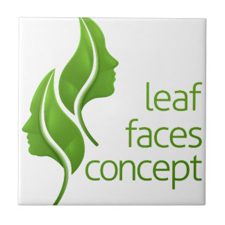 Leaf Faces Concept Tile