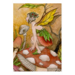 Leaf Fairy Large Business Cards (Pack Of 100)