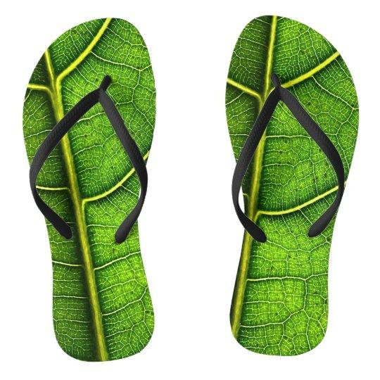 Leaf Flip Flops