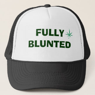 leaf, FULLY BLUNTED Trucker Hat