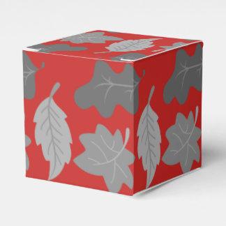 Leaf Gift Box Wedding Favor Box