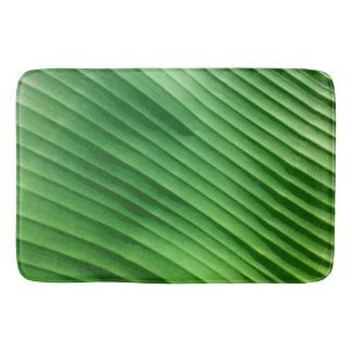 Leaf Green Diagonal Bath Mat