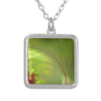 Leaf Green Fractal Jewelry