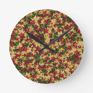 leaf--h clock
