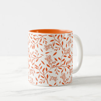 Leaf it to Me Two-Tone Coffee Mug