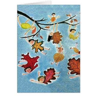 Leaf Kids Card