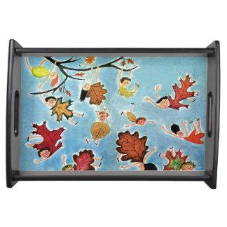 Leaf Kids Food Trays