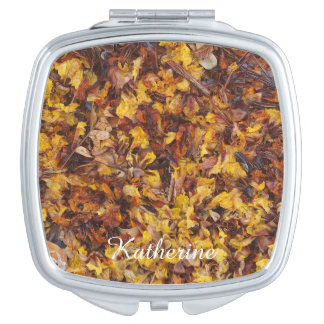 Leaf litter compact mirror