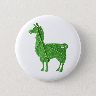 Leaf Llama Button