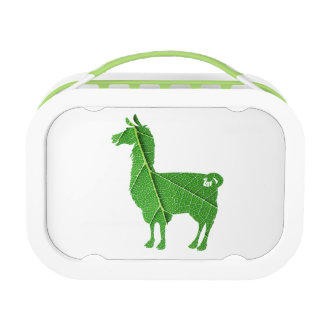 Leaf Llama Lunch Box