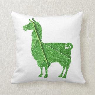 Leaf Llama Pillow