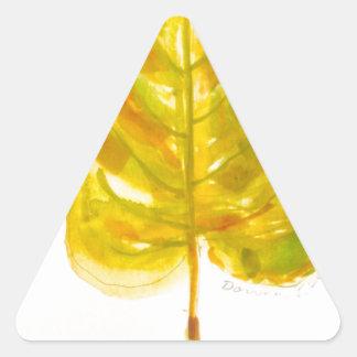 Leaf Logo Stickers