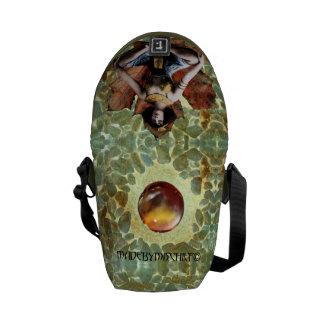 Leaf Meditation messenger bag