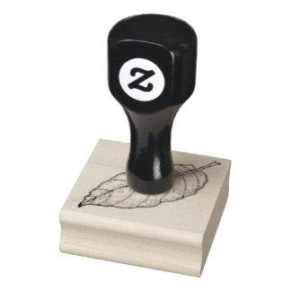 Leaf -- (Medium) Rubber Stamp