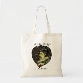 Leaf Painting Tote Bag