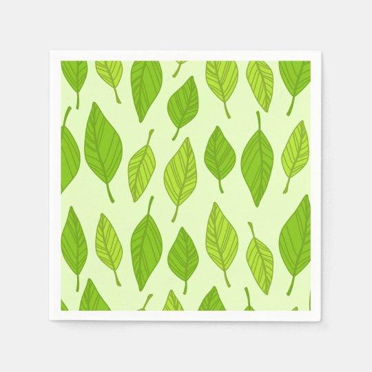 Leaf paper Napkins