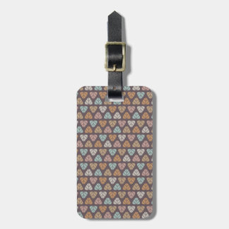 Leaf pattern 2 luggage tag
