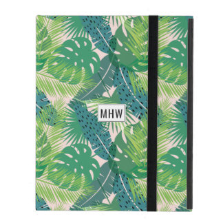Leaf Pattern custom monogram device cases