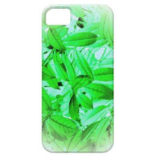 Leaf pattern i-pad case
